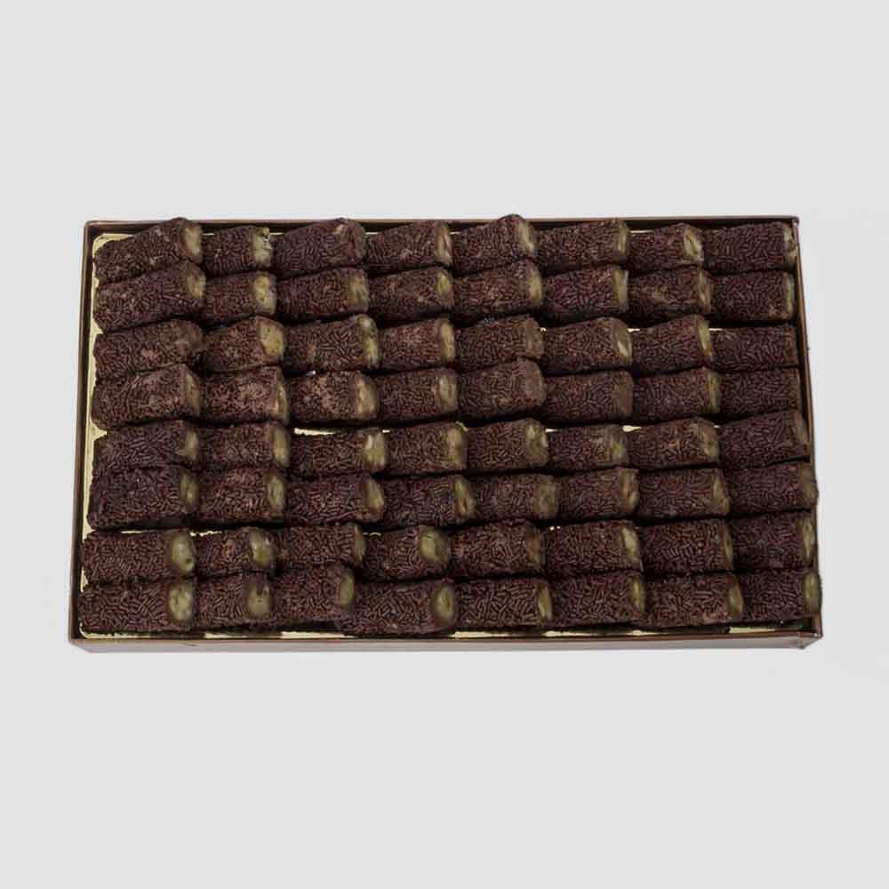 Kaju Mithai-Bikanervala Kaju Chocolate Roll