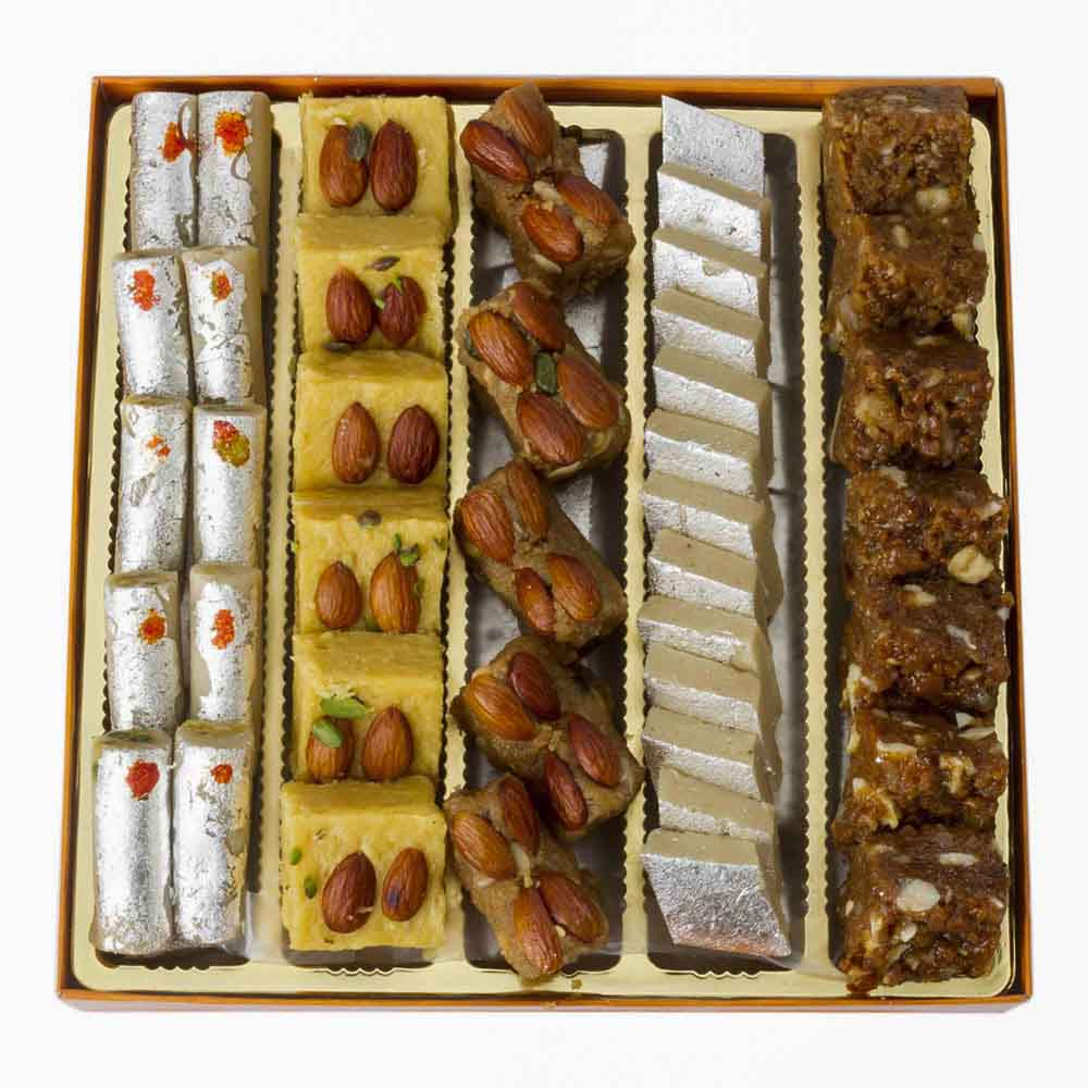 Assorted Mithai-Bikanervala Taste of Legends Sweets Box