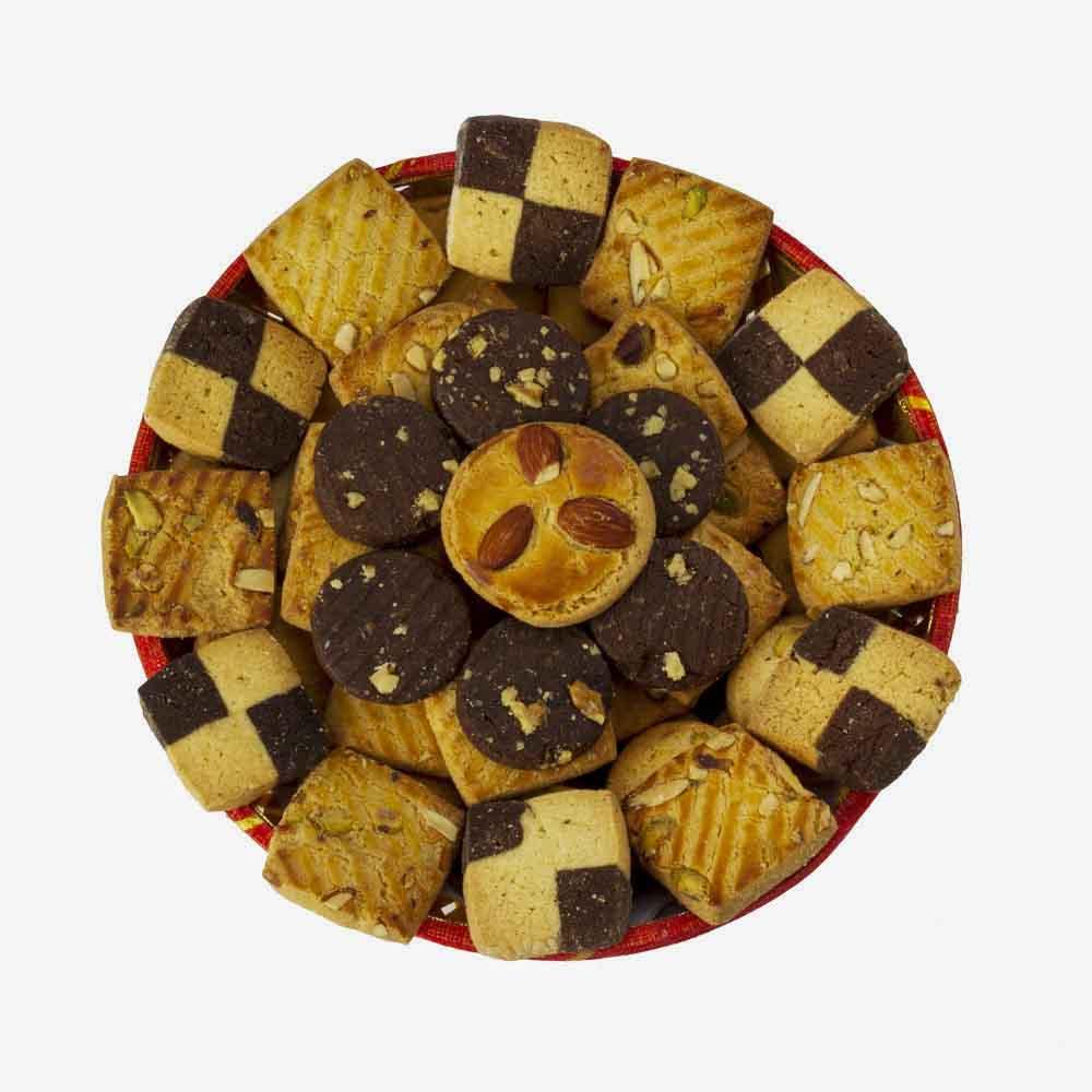 Cookies-Bikanervala Choco Chunky Cookies Basket