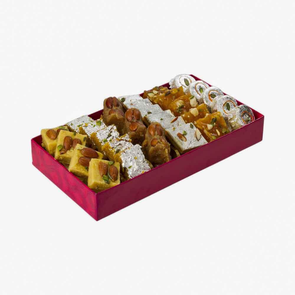 Assorted Mithai-Bikanervala Assorted Delights Box