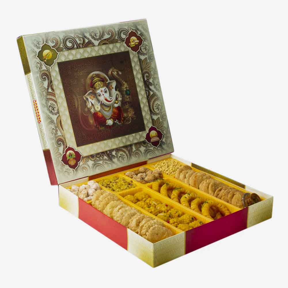 View Bikanervala Traditional Indian Touch Sweets box