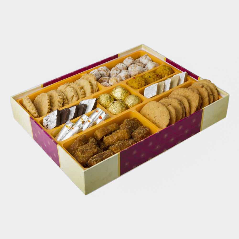 Assorted Mithai-Bikanervala Sweet n Savory Delicacies Box