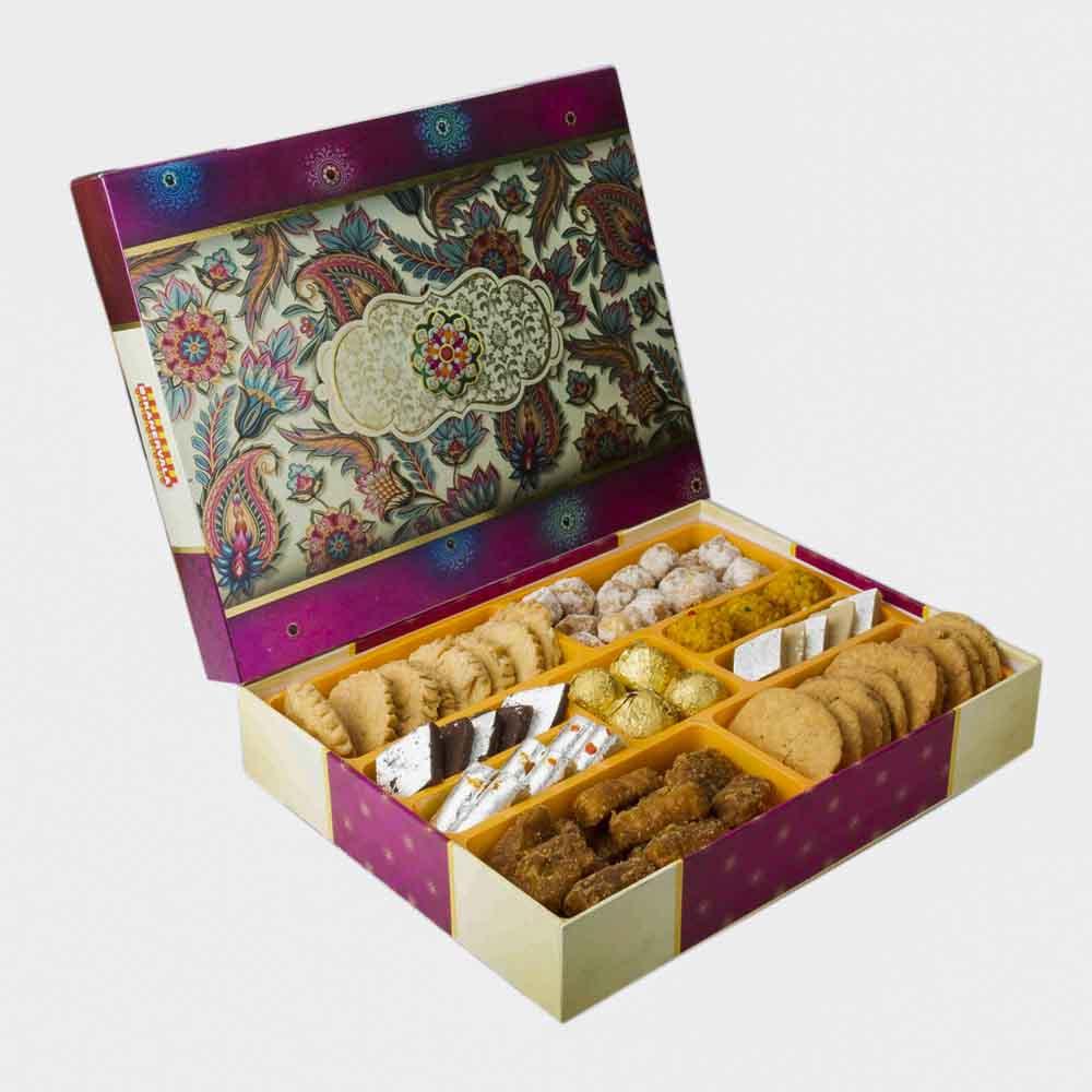 Bikanervala Sweet n Savory Delicacies Box