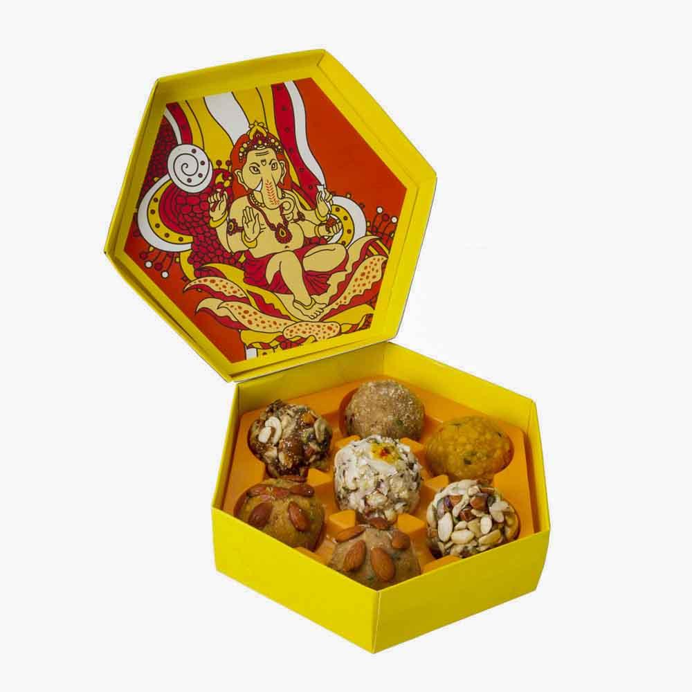 Assorted Mithai-Bikanervala Assorted Mix Shahi Laddoo Delight