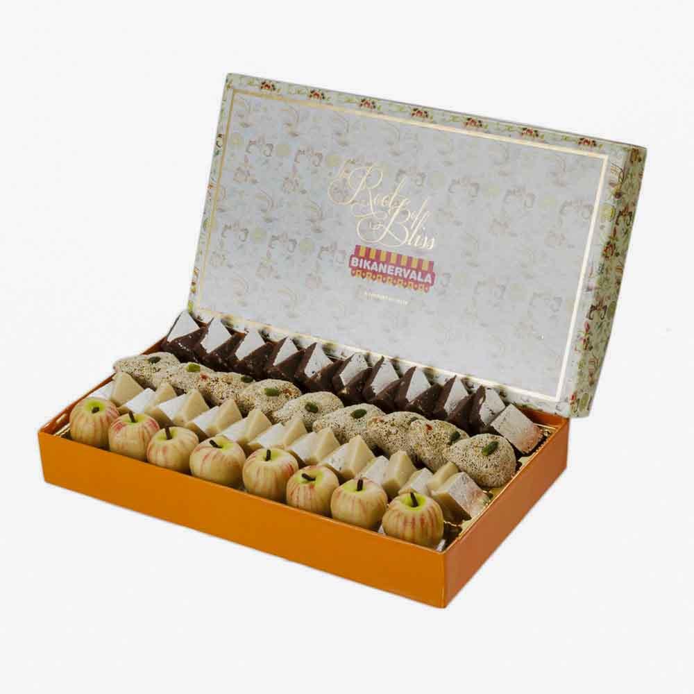 Assorted Mithai-Bikanervala Assorted Mithai Box