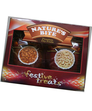 Crunchy Dryfruits-Festive Treat - Pack of 2