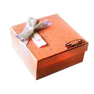 Gift Pink Dryfruit Box on Rakhi
