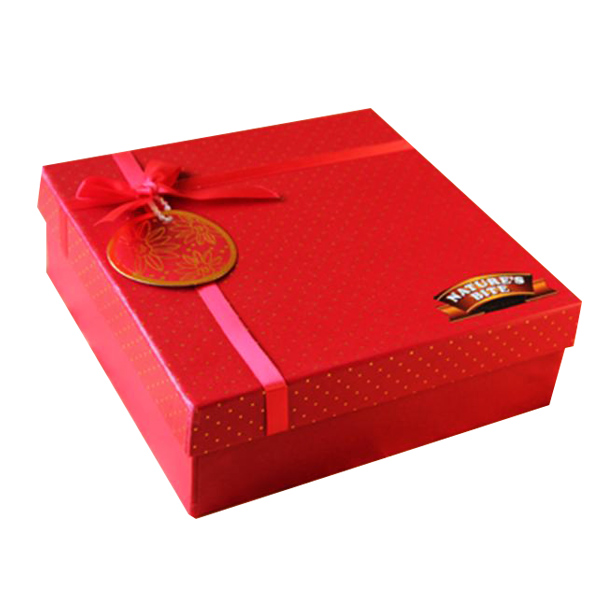 Red Dryfruit Box