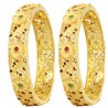 Rein One Gram Gold Bangles - Set of 2