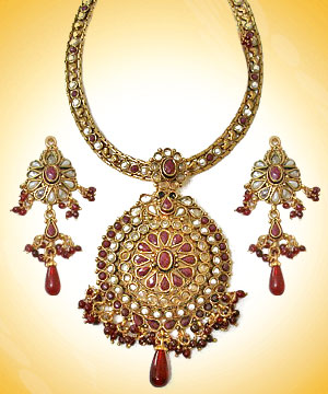 One Gram Gold Necklace Set