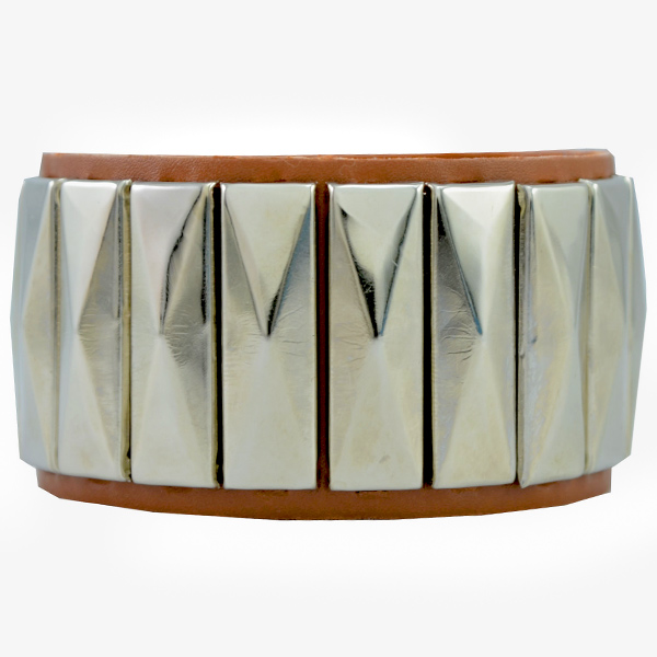 Alpha Man Geometric Rhapsody In Brown Bracelet