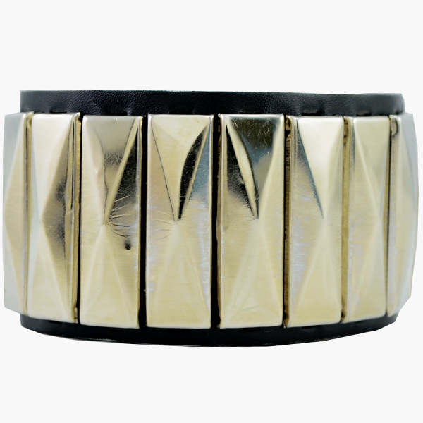 Alpha Man Geometric Rhapsody In Black Bracelet