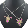 Diovanni Innocent Bunny Lovely Friends Couple Pendants
