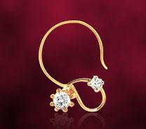 Facetzinspire Diamond Gold Nosepin