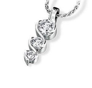 Facetzinspire Diamond Gold Pendant