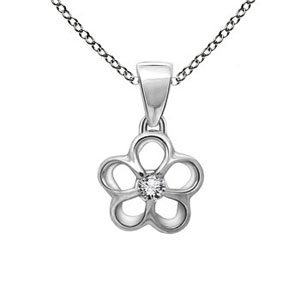 Facetzinspire Diamond Gold Pendant