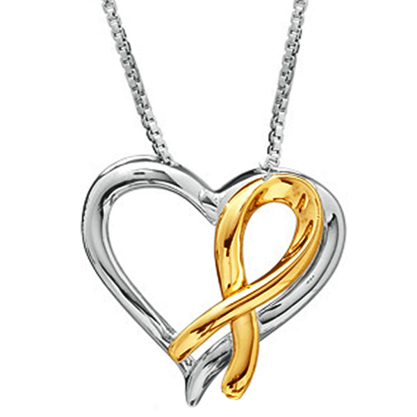 FacetzInspire 9Kt Gold Heart Pendant