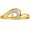 Facetzinspire Real Diamond Gold Ring