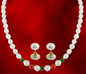 Jpearls Colorful Pearl Necklace