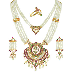 Bridal Sets-Jpearls New Complete Bridal Set