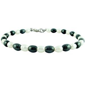Jpearls Dual Color Pearl Bracelet
