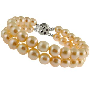 Jpearls Simple Pearl Braclet