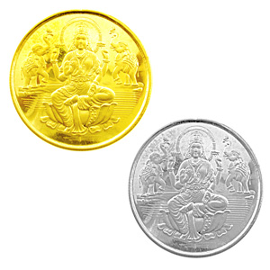 Jpearls Lakshmi Gold Coin Hamper