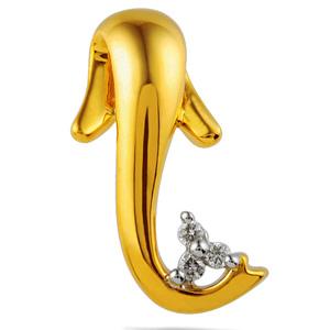 Jpearls Siddhipriya Ganesha Diamond Pendant
