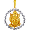 Jpearls Vishwaraja Diamond Pendant for Men