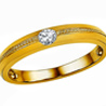 Jpearls Amorata Diamond Finger Ring for Men