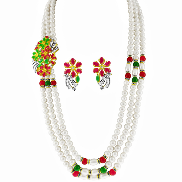 Jpearls Special Peral Necklace Set