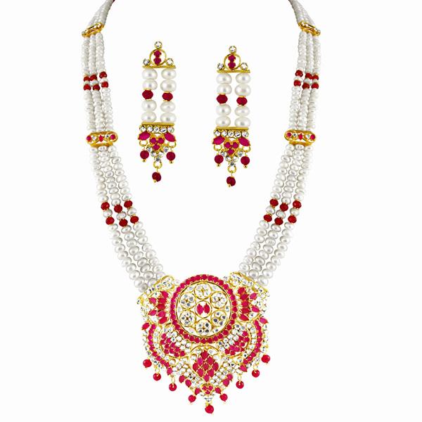 Bridal Sets-Jpearls Maharani Bridal Pearl Set