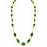 Jpearls 22Kt Emerald Gold Chain
