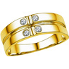 Jpearls 18 kt Gold Diamond Finger Ring