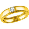 Jpearls 18kt Gold Diamond Finger Ring