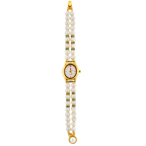 Jpearls Special Oval Pearl Watch