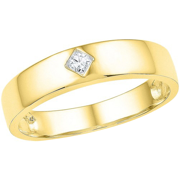 Jpearls Gold Abell Diamond Finger Ring