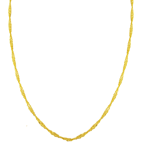 Jpearls 22kt Pure Gold Chain
