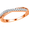 Jpearls�Rose Gold Regal Diamond Ring