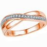 Jpearls�Rose Gold Glorious�Diamond Ring