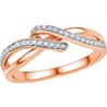 Jpearls�Rose Gold Noble�Diamond Ring