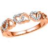 Jpearls�Rose Gold Majestic�Diamond Ring