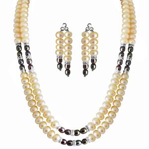 Pearl Sets-Jpearls 2 Line Eloquent Pearl Set