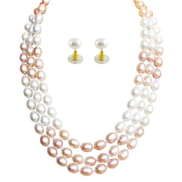 Jpearls Overwhelming Pearl Set