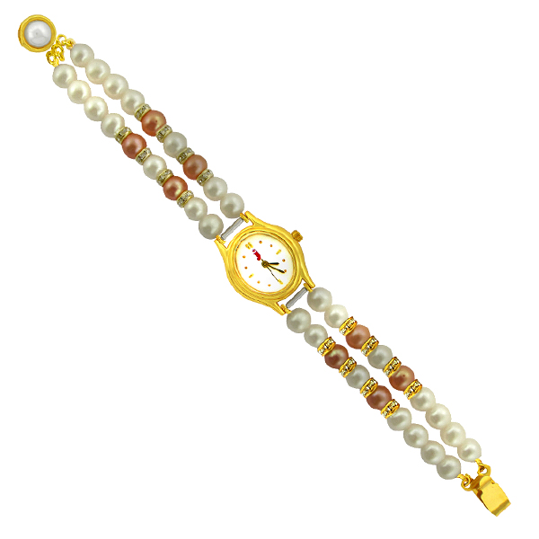 Jpearls Scintillating Pearl Watch