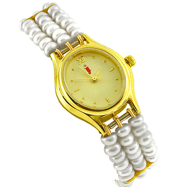 Jpearls Button Pearl Watch
