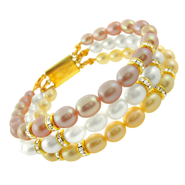 Jpearls Eye Catching Pearl Bracelet