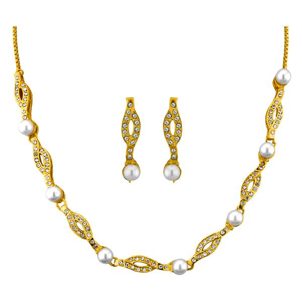 Jpearls Carmel fashion Pearl Necklace Set