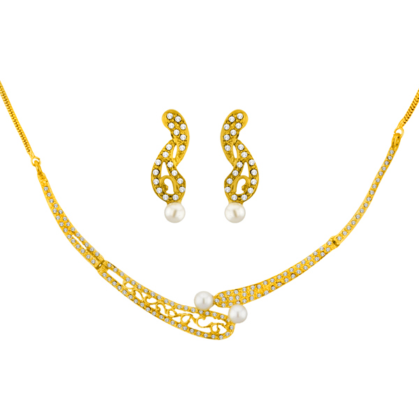 Jpearls Honey Pearl Necklace Set