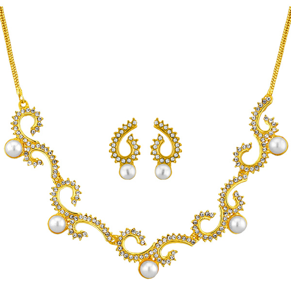 Jpearls Diana Pearl Necklace Set